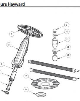 Diaphragme pour nettoyeur DV4000 - Num5