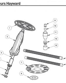 Bague de retenue pour nettoyeur DV4000 - Num6