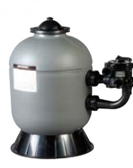 Filtre à Sable Propure Série Pro Side - Vanne 6 Voies - 11 M3/h