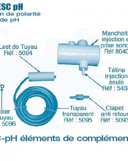 Electrolyseur Promatic ESC pH - Autres Compléments - Num 5093 - Clapet anti retour
