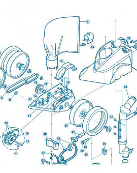 Polaris 360 - Num 4 - Goupille de roue inox