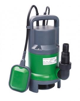 Pompe vide-cave eaux chargées 400w avec interrupteur flotteur