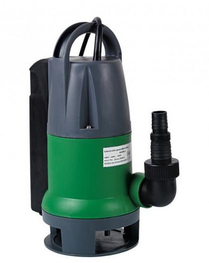 Pompe vide-cave eaux chargées 550w avec flotteur intégré