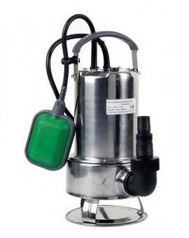 Pompe vide-cave eaux chargées 750w inox avec interrupteur flotteur