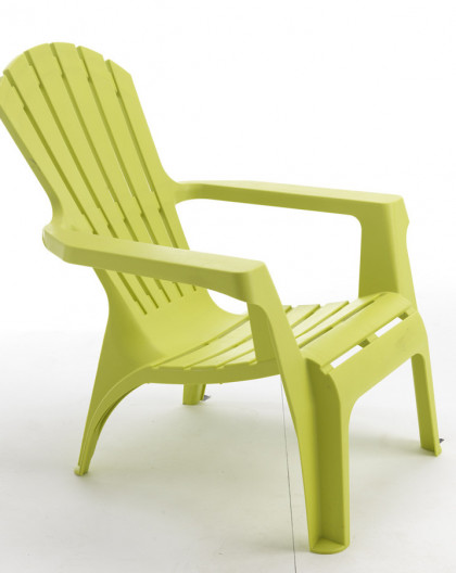 fauteuil adirondack couleur vert anis fauteuil de jardin pvc. Black Bedroom Furniture Sets. Home Design Ideas
