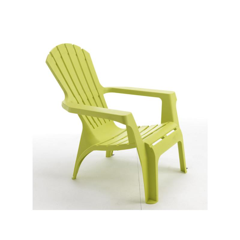 fauteuil adirondack couleur vert anis fauteuil de jardin pvc. Black Bedroom Furniture Sets. Home Design Ideas