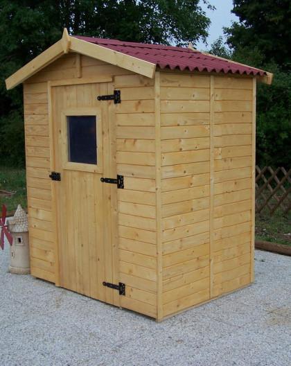 abri de jardin en bois eden de abri de. Black Bedroom Furniture Sets. Home Design Ideas