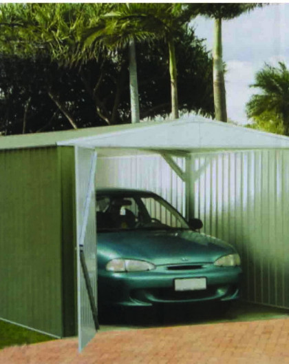 Garage métal ABSCO de 17.52 m2 de 3x6m