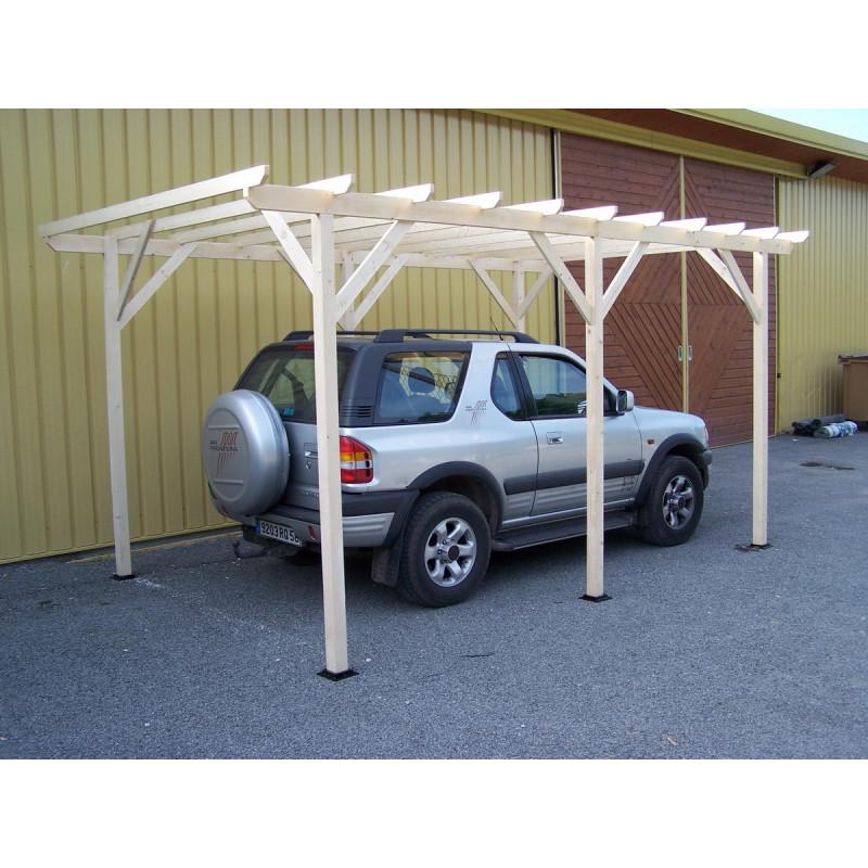 carport voiture aviso 15m2 3x5m carport voiture pas cher. Black Bedroom Furniture Sets. Home Design Ideas