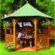 Gloriette Kiosque CHOPIN de 9.6 m2 diamètre 3.4m