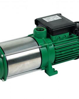 Pompe de surface multi-cellulaire triphasée autoamorçante 5 turbines pompe inox
