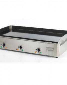 Plancha Pro Electrique 9000W 3 bruleurs Plaque Acier Emaillée Triphasé PSR900EEC