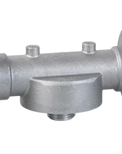 Support pour filtre gasoil à montée en entrée de pompe