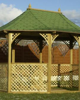 Pavillon octogonal de 11.29 m2 MONTE-CARLO