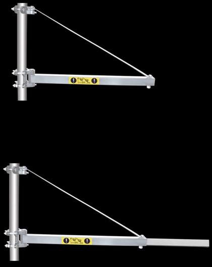Bras Telescopique Pour Palan 300-600Kg