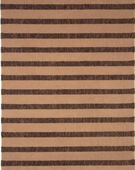 Tapis en Laine Vierge Modèle TATTOO 118 MARRON Rectangulaire - Dim. cm 200x250