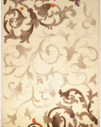 Tapis en Laine Vierge Modèle DAMA 625 CREME Rectangulaire - Dim. cm 200x300