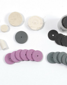 Accessoires polissage et nettoyage pour PROMKIT300