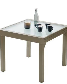 Table de jardin Modulo 4 à 8 place(s) Taupe