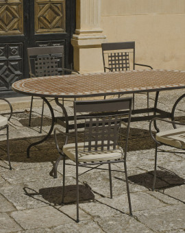 Salon de Jardin ALTAMIRA-VIGO 6 places