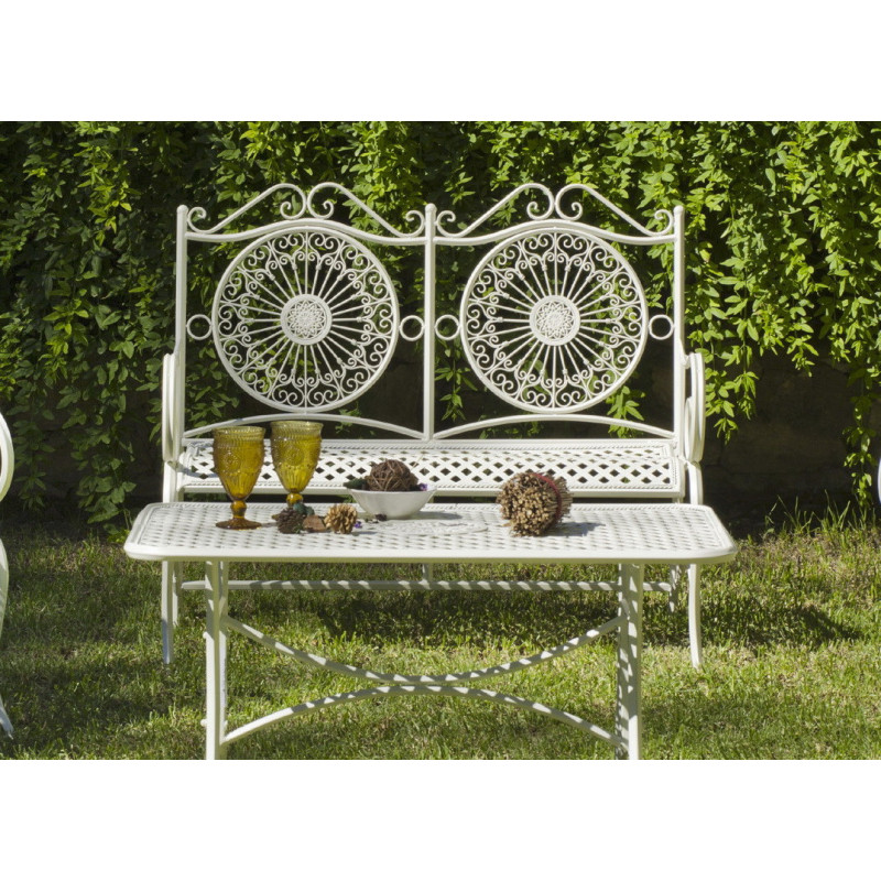 Salon de Jardin VERACRUZ 4 places | Table Mosaique | HEVEA mobilier ...