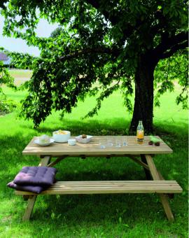 Table pique nique 170cm KAREL