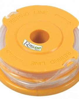 Blister de 2 bobines fil pour tondeuse - coupe bordure PRW550/T