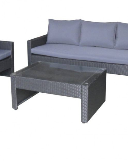 Vente Ens Confort Sofa 3 Places 2 Fauteuils 1 Table 5 Place S
