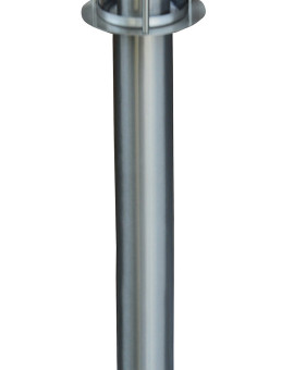 BORNE INOX 60W E 27 80CM
