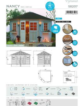 abris de jardin en bois solid pas cher toutpourlamaison tout pour la maison. Black Bedroom Furniture Sets. Home Design Ideas