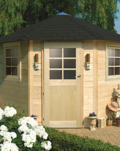 Abri de jardin NANCY 2550X2550