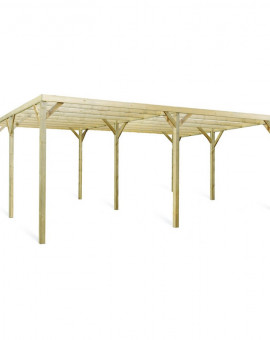 Carport auportant double MONZA  510 x 608 x 240 cm
