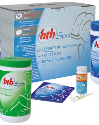 Pour Spa au Chlore Kit HTH Complet de traitement (environ 3-4mois)