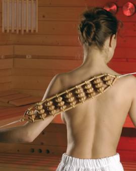 Ceinture de Massage en bois