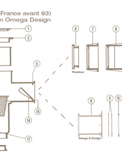 Joint Adhésif Design Skimmer COFIES Grande Meurtrière