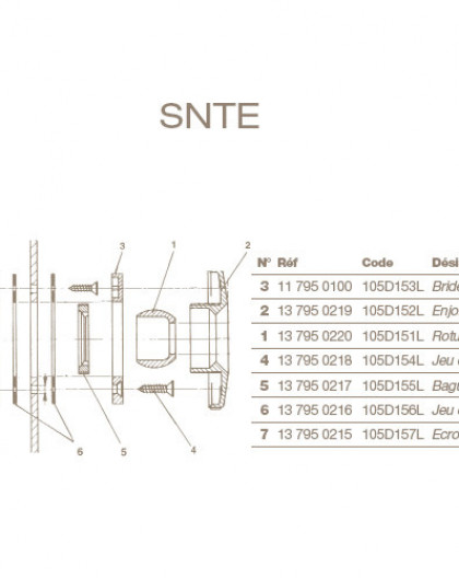 Rotule Orientable Refoulement POOLS Liner
