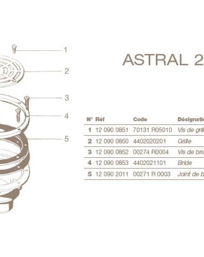 Joint + Bride Bonde de Fond ASTRAL 2