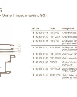 Bouchon Bonde de Fond COFIES 11/2