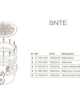 Joint Détancheité (x2) Bonde de Fond SNTE Liner