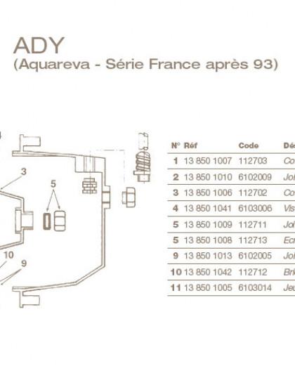 Joint de Presse Etoupe Ø13 pour Projecteur ADY