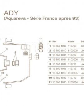 Ecrou de Presse Etoupe pour Projecteur ADY