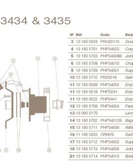 Lampe 12V-100W pour Projecteur COFIES 100W