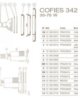 Lampe Halogène 12V-35W pour Projecteur COFIES 35-75W.
