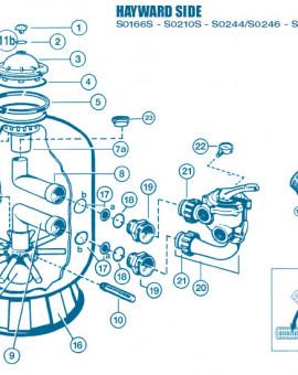 Filtre Side - Num 15 - Bouchon de vidange tous modèles sauf S246
