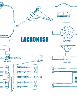 Filtre Lacron LSR - Num N.R. - Crépine 28 cm