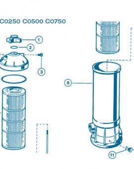 Filtre Gamme Star Clear I - Num 8 - Cuve filtre C0500