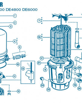 Filtre Gamme Micro Clear - Num 17 - Centreur élément filtrant