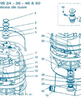 Filtre Gamme Nautilus FNS 24