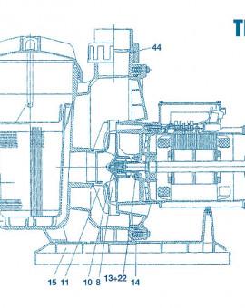 Pompe Tifon - Num 8 - Turbine 3 CV mono