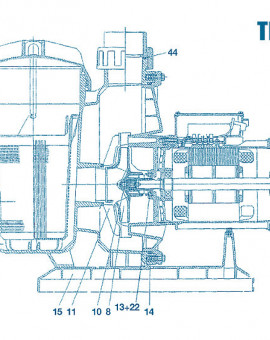 Pompe Tifon - Num 44 - Joint raccord
